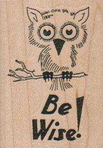 Be Wise Owl 1 1/2 x 2-0