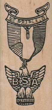 BSA Insignia 1 1/4 x 2 1/2-0