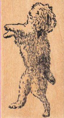 Wheaton Terrier Dancing Dog 2 x 3 1/2-0
