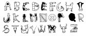 Cow Alphabet (Unmounted)-0