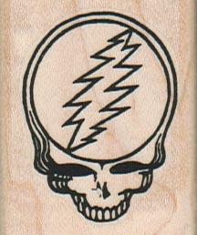 Lightning Skull 1 1/2 x 1 3/4-0