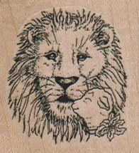 Lion & Lamb/Sm 1 1/2 x 1 1/2-0