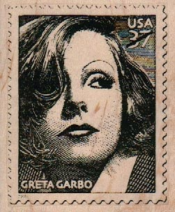 Faux Postage Stamp 2 3/4 x 3 1/4-0