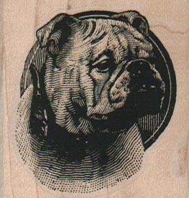 BullDog Head 2 x 2-0