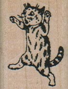 Cat Running On Hind Legs 1 x 1 1/4-0