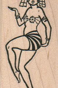 Egyptian Dancer 1 1/2 x 2 3/4-0
