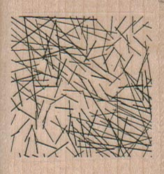Lacy Lines /Square 1 3/4 X 1 3/4-0