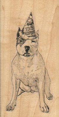 Party Dog 2 x 3 1/4-0