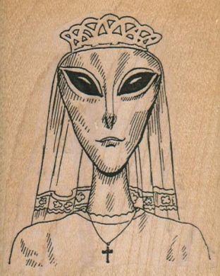 Alien Princess 2 3/4 x 3 1/4-0