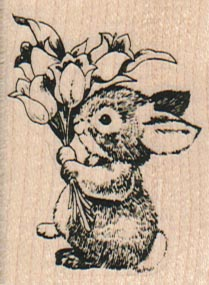 Bunny Bouquet/Small 1 1/2 x 2-0