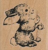 Bunny/Single Flower/Small 1 1/2 x 1 1/2-0