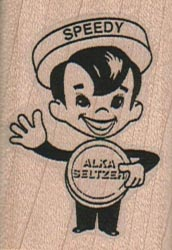 Speedy Alka Seltzer (Small) 1 1/4 x 1 3/4-0