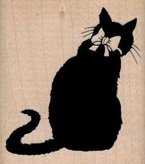 Black Cat Back 2 x 2 1/4-0