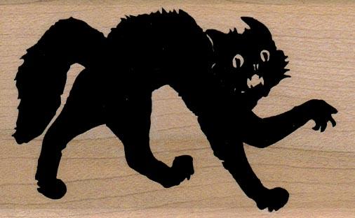 Scary Cat 2 1/4 x 3 1/2-0