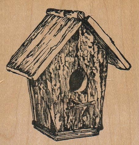 Birdhouse/Rustic 3 1/4 x 3 1/4-0
