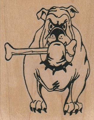 Dog With Bone 2 1/4 x 2 3/4-0
