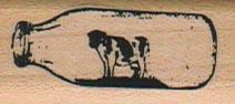 Cow In Bottle 3/4 x 1 1/2-0