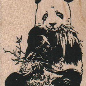 Panda Eating 2 1/4 x 2 3/4-0