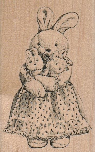 Bunny Mama/Large 2 3/4 x 4 1/4-0