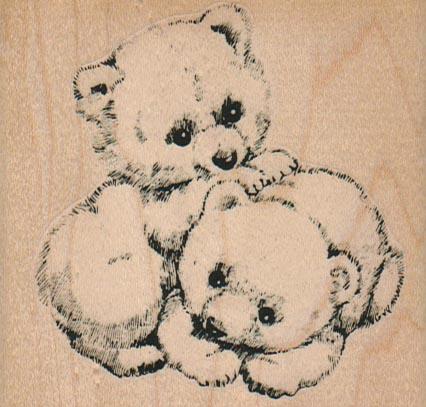 Bear Babies/Large 3 x 2 3/4-0