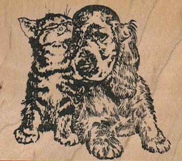 Cat & Dog Buddies 2 3/4 x 2 1/4-0