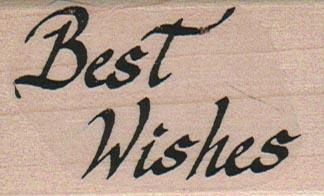 Best Wishes (Script) 1 1/2 x 2 1/4-0