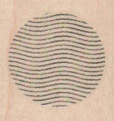 Texture/Wavy Lines 1 3/4 x 1 1/2-0