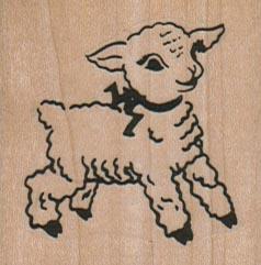 Little Lamb 1 3/4 x 1 3/4-0