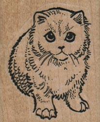 Cat Face On 1 1/2 x 1 3/4-0
