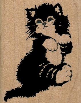 Cuddly Kitty Cat 2 x 2 1/2-18542