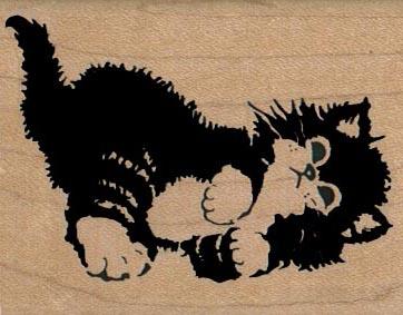Cuddly Kitty Cat 2 x 2 1/2-0