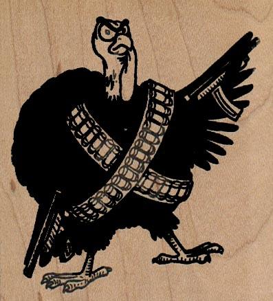 Armed Turkey 2 3/4 x 3-0