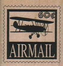 Air Mail 60 Postoid 1 1/2 x 1 1/2-0