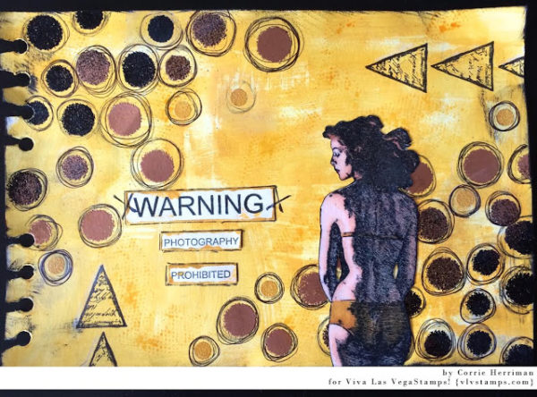 Area 51 Warning 3 1/4 x 4 1/4-44238