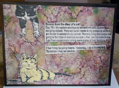 Crayon Kitty 2 x 3 1/2-36086