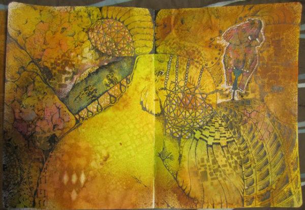 Elephant And Mountain 2 x 4 1/4-38327