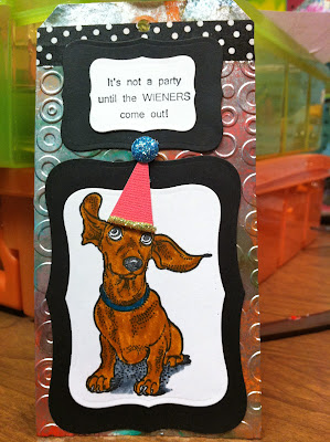 Dog Ears Flying 2 1/4 x 3 1/4-36271