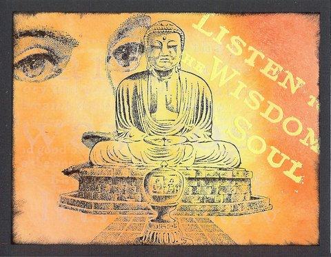 Buddha 3 3/4 x 4 1/4-35235