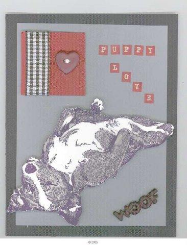 Basenji Dog Relaxing 3 1/2 x 4 1/4-34056