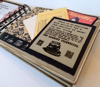The Hammond Typewriter Ad 2 1/2 x 2 1/2-38320