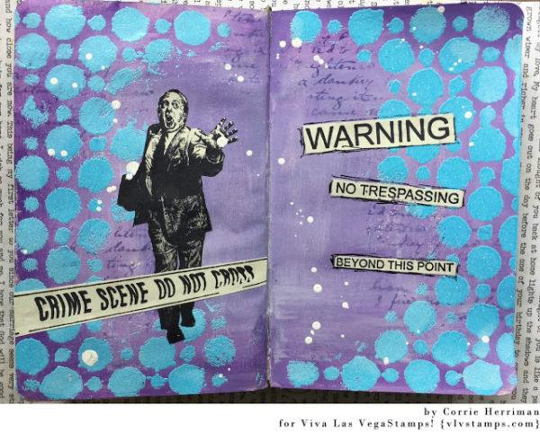 Area 51 Warning 3 1/4 x 4 1/4-59632