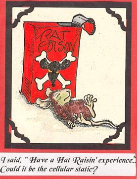 Rat Poison Victim 3 3/4 x 3 3/4-37664