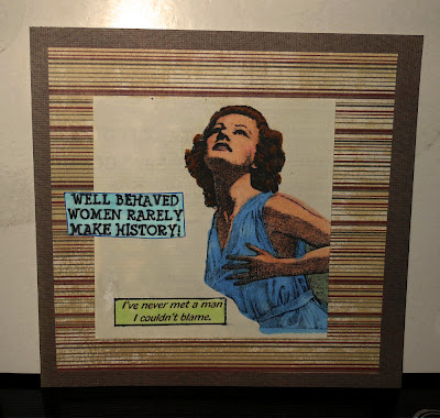 Well Behaved Women Rarely 1 x 2 1/4-32981