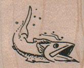Wahoo Fish 1 1/4 x 1-0