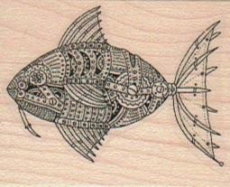 Steampunk Fish 1 1/2 x 1 3/4-0