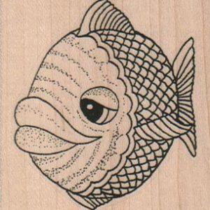 Big Lipped Fish (Large) 2 1/4 x 2 1/4-0