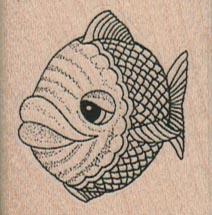 Big Lipped Fish (Small) 1 1/2 x 1 1/2-0