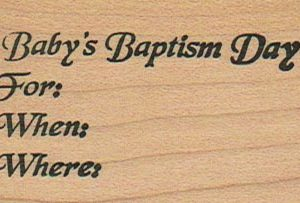 Stampa Rosa Baptism 1 1/2 x 2 1/2-0