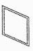 Steampunk/Collage/Altered Art Brass Frames - Diamond 1 1/4 x 2-0