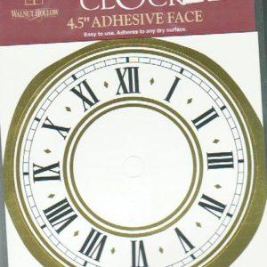 Walnut Hollow Large Adhesive clock face-0